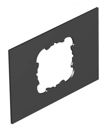Abdeckplatte Telitank T4B, runde Einbauöffnung für EKR-Gerät