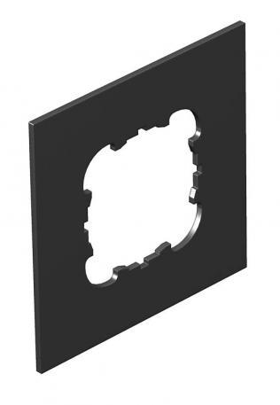 Abdeckplatte Telitank T4L/T8NL, runde Einbauöffnung für EKR-Gerät, für Schmalseite
