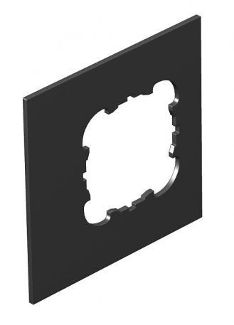 Abdeckplatte Telitank T4L/T8NL, runde Einbauöffnung für EKR-Gerät, für Längsseite