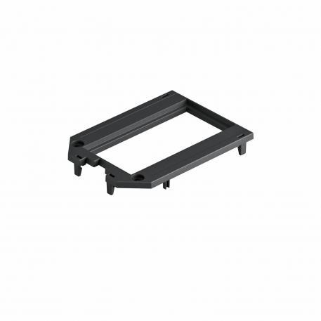 Abdeckplatte für Universalträger UT3 und UT4, Modul 45®-Einbauöffnung