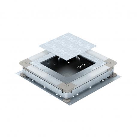 UGD250-3 für eckige Einbaueinheiten, für Estrichhöhe 70-125 mm