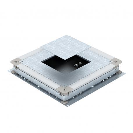 UGD350-3 für eckige Einbaueinheiten, für Estrichhöhe 70-125 mm