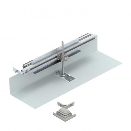 Bausatz für Winkelabzweig nach links, Höhe 40-150 mm