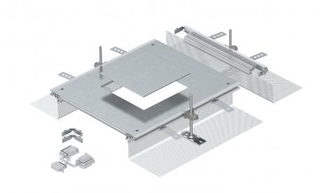 Anbaueinheit für GES4, Höhe 40-140 mm
