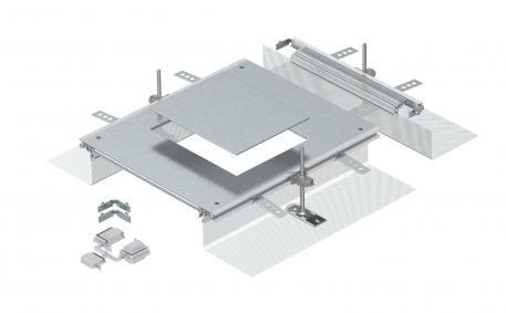 Anbaueinheit für GES6, Höhe 40-140 mm