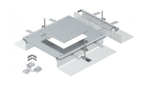 Anbaueinheit für GES9, Höhe 40-140 mm