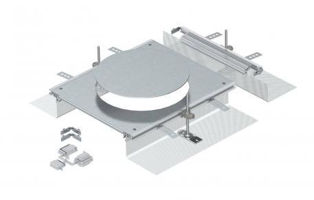 Anbaueinheit für GESR9, Höhe 40-140mm