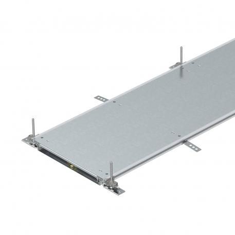Kanaleinheit, blind, rastend, Höhe 40-70 mm