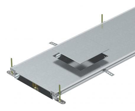 Kanaleinheit für GES9, Höhe 60-110 mm