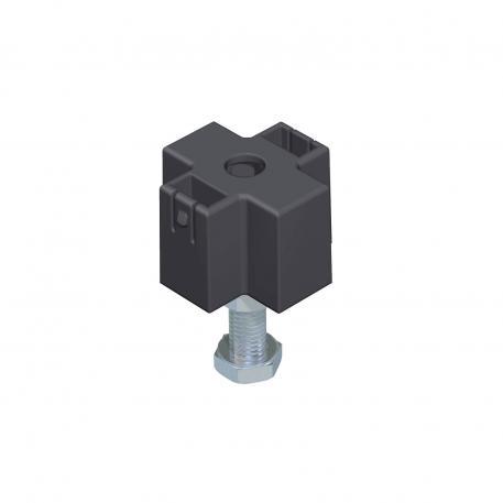 Nivelliereinheit für Deckelstoßunterstützung, Kanalhöhe 40-70 mm