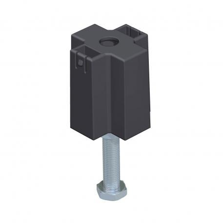 Nivelliereinheit für Deckelstoßunterstützung, Kanalhöhe 60-110 mm