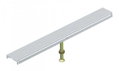 Deckelstoßunterstützung für Kanalbreite 400, 500 und 600 mm