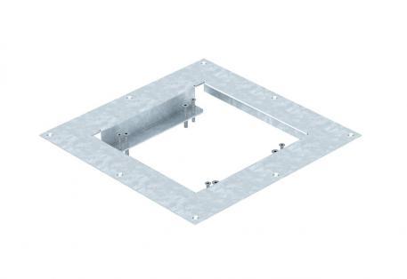 Montagedeckel für nivellierbare Kassette der Nenngröße 4 in Systemböden