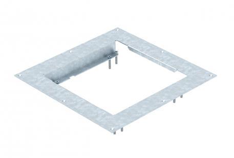 Montagedeckel für nivellierbare Kassette der Nenngröße 9 in Systemböden