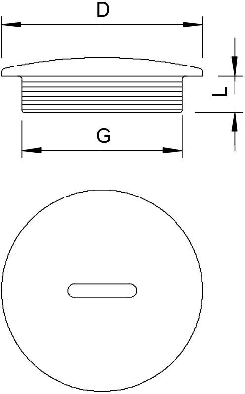 25 Stück OBO Bettermann Verschlußschraube 108 PG36 lichtgrau Verschlussschrauben